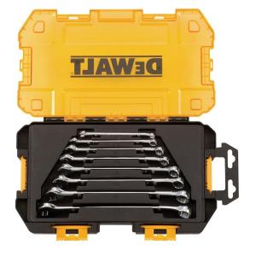 Dewalt SAE Combination Wrench Set (8-Piece) by DEWALT