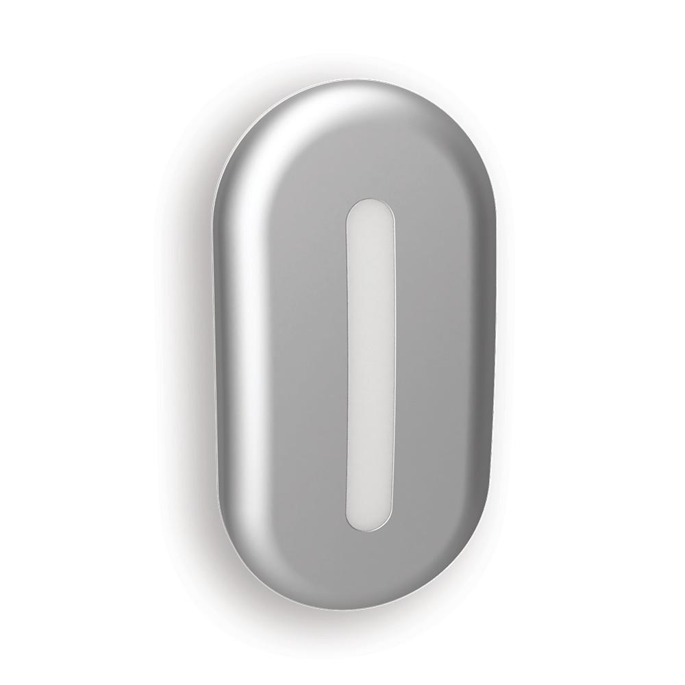 Nickel Modo Curve Automatic LED Night Light