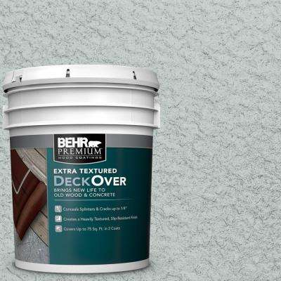 5 gal. #SC-365 Cape Cod Gray Extra Textured Solid Color Exterior Wood and Concrete Coating
