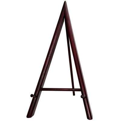 Rosewood 12 in. H Decorative Easel Stand