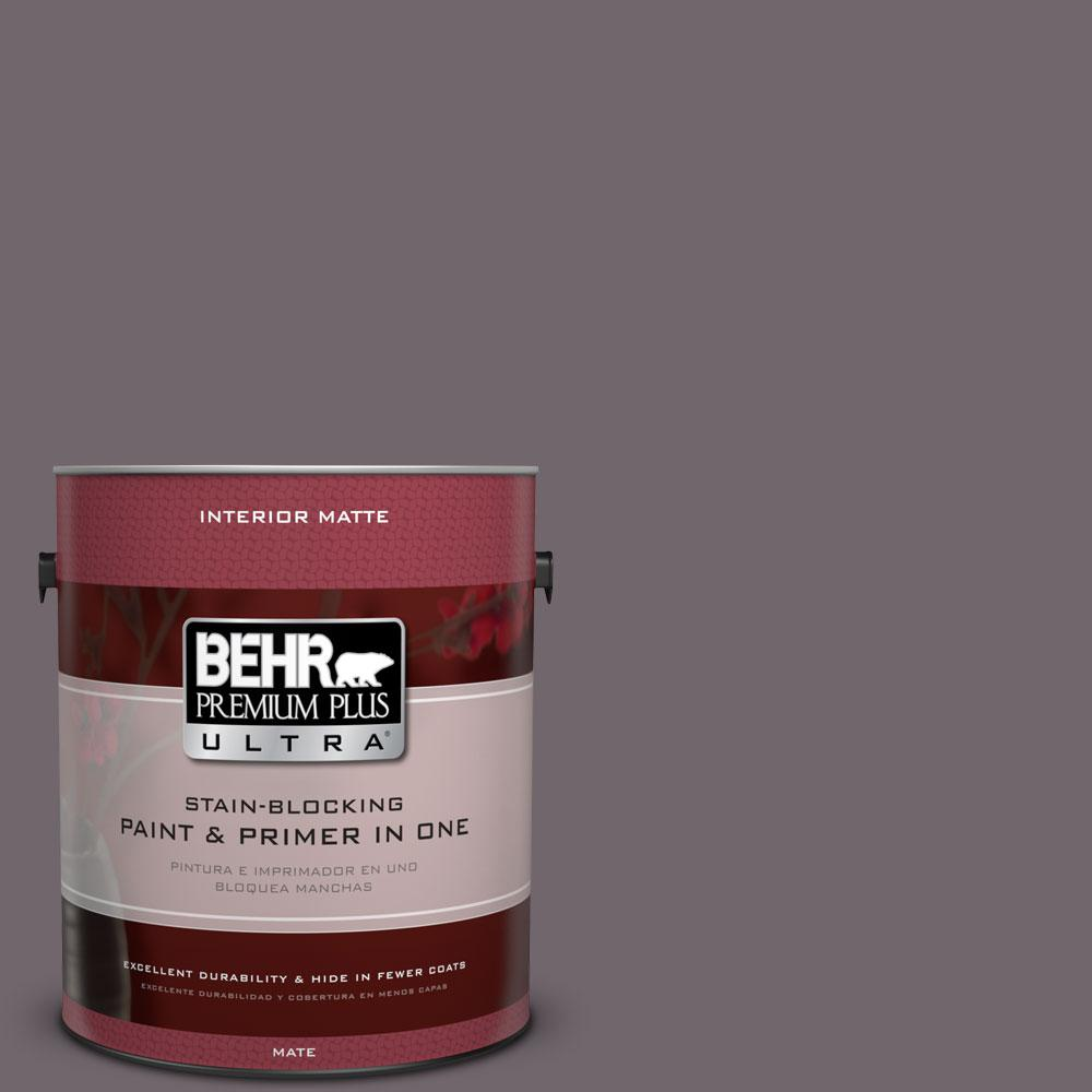 BEHR Premium Plus Ultra 1 gal. #N570-5 Curtain Call Matte Interior Paint