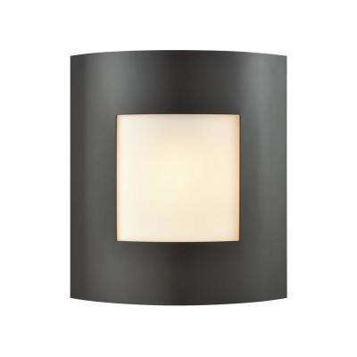 Bella 1-Light Oil Rubbed Bronze Outdoor Wall Mount Sconce