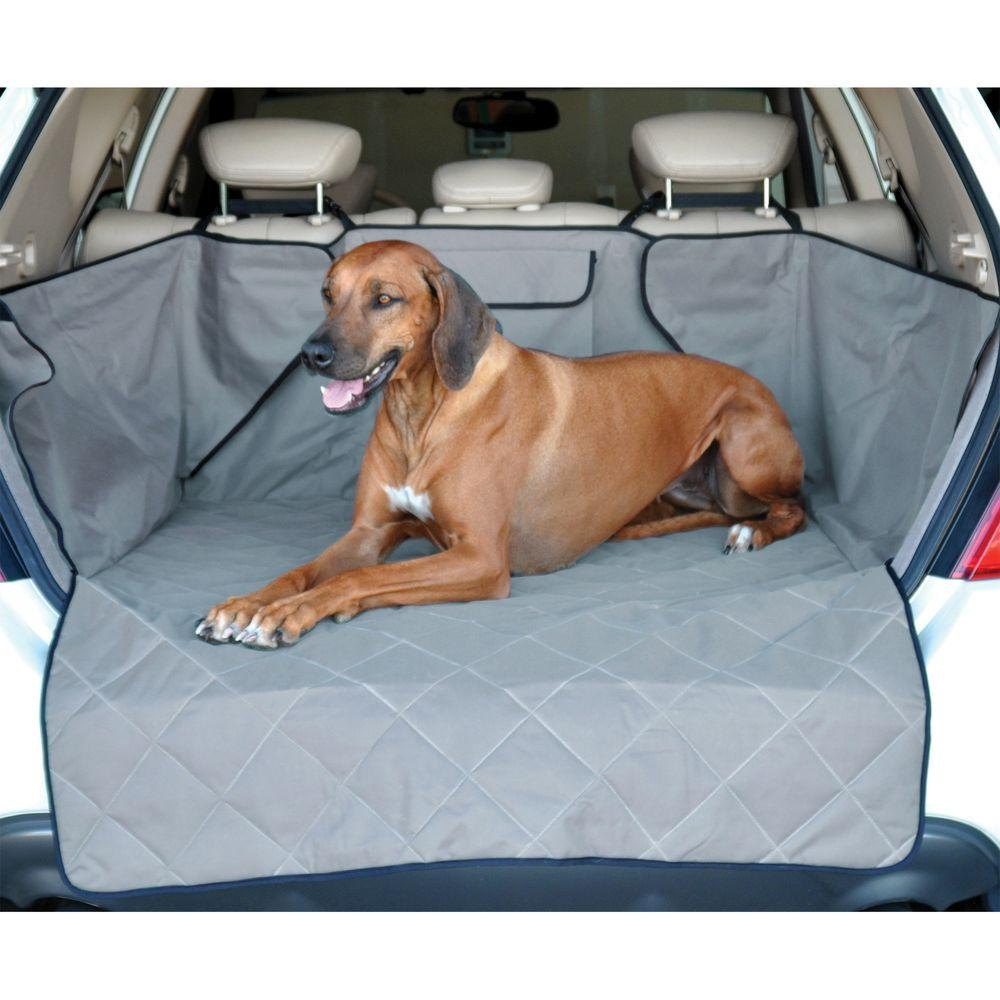 Gray Quilted Cargo Cover