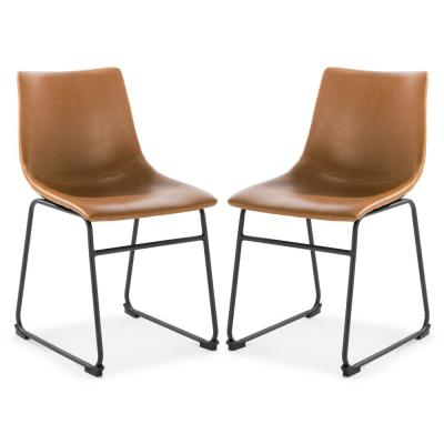 Brinley Tan Dining Chair (Set of 2)