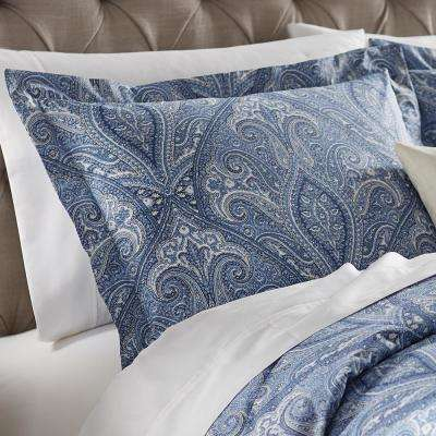 Dandridge Indigo Standard Pillow Sham