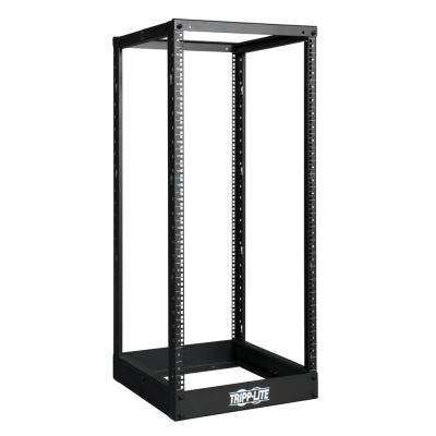 25U SmartRack 4-Post Open Frame Rack