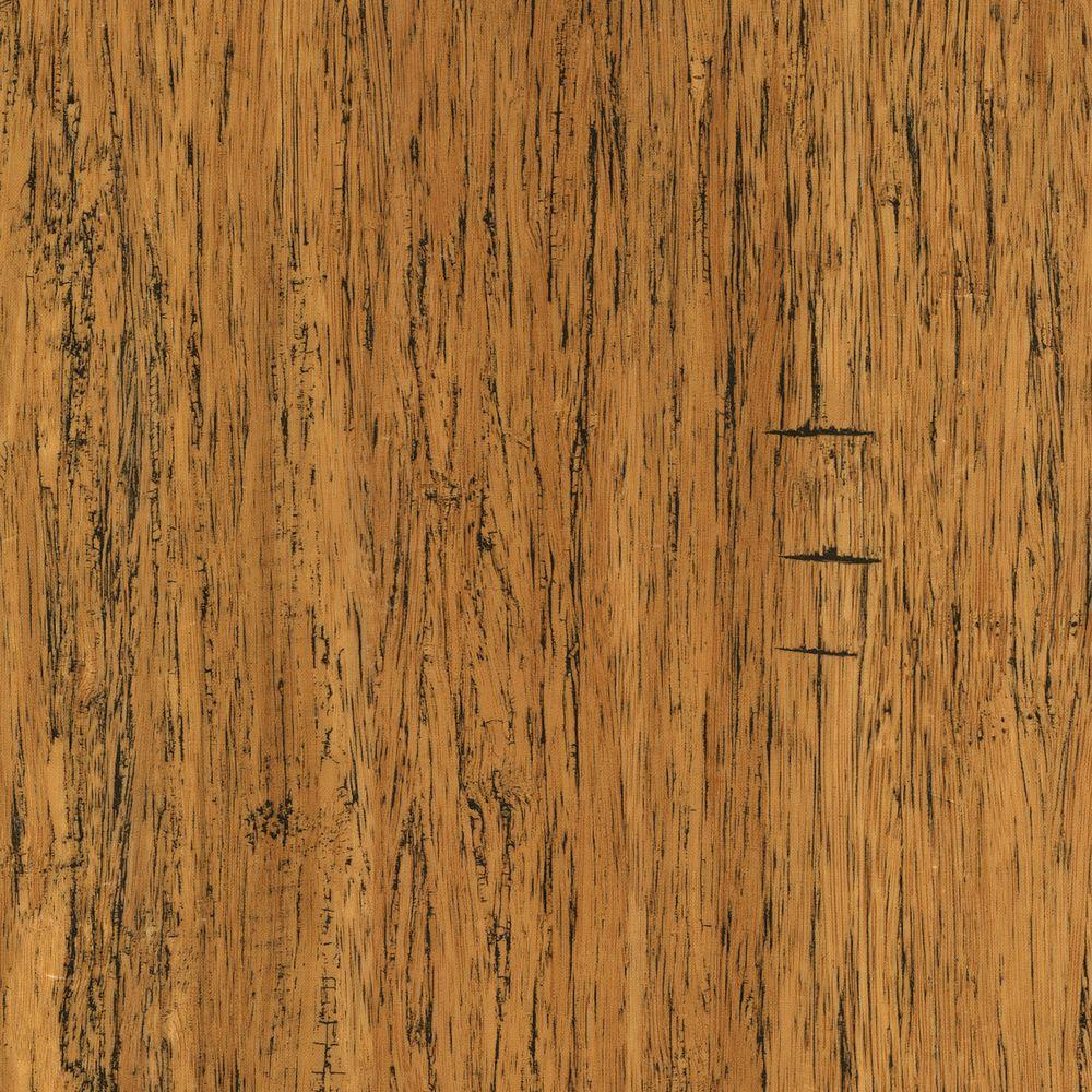 Take Home Sample - Distressed Strand Woven Bamboo Tavern Vinyl Plank