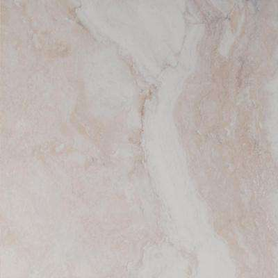 Forte Ivory 18 in. x 18 in. Glazed Ceramic Floor and Wall Tile (15.75 sq. ft. / case)