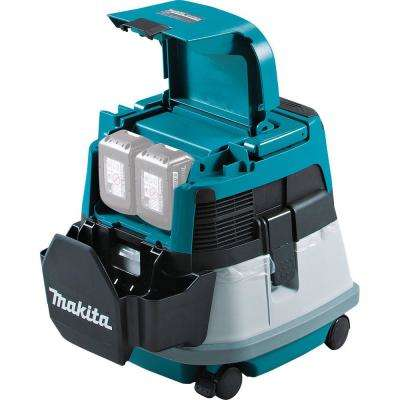 18-Volt X2 LXT Lithium Ion 36-Volt Brushless Cordless 2.1 Gal. HEPA Filter Dry Dust Extractor/Vacuum with AWS Tool