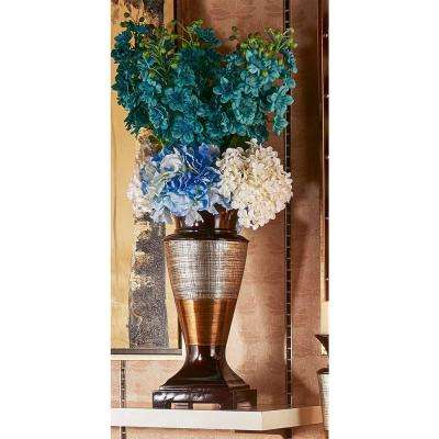 Naomi Bronze Polyresin Decorative Vase