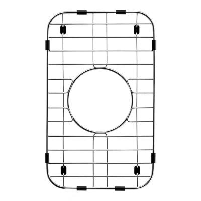 Wirecraft 13.88 in. x 8.44 in. Bottom Grid for Kitchen Sinks in Stainless Steel