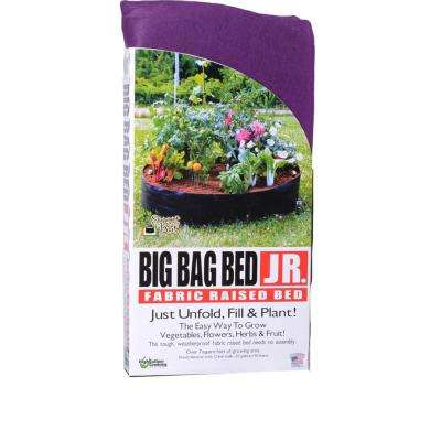 Purple Junior Fabric Raised Garden Bed