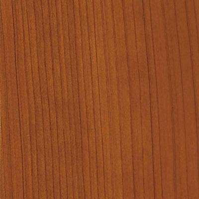 4 in. x 3 in. Wood Garage Door Sample in Redwood with Natural 078 Stain