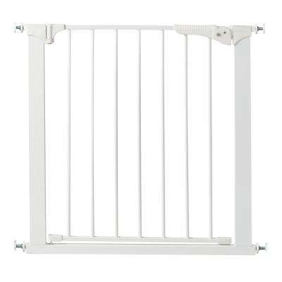 29.5 in. H Pressure Mount Gate Gateway in White