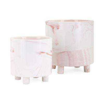 Parra Blush Planters (Set of 2)