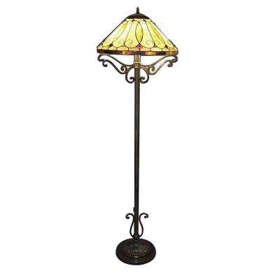 Tiffany Arroyo Styled 60 in. Bronze Floor Lamp