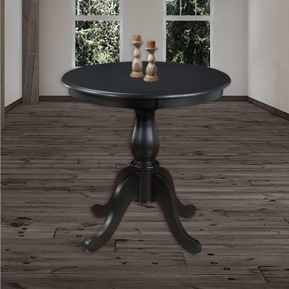 Fairview Dining Room: Carolina Cottage Fairview Antique Black Pedestal Dining
