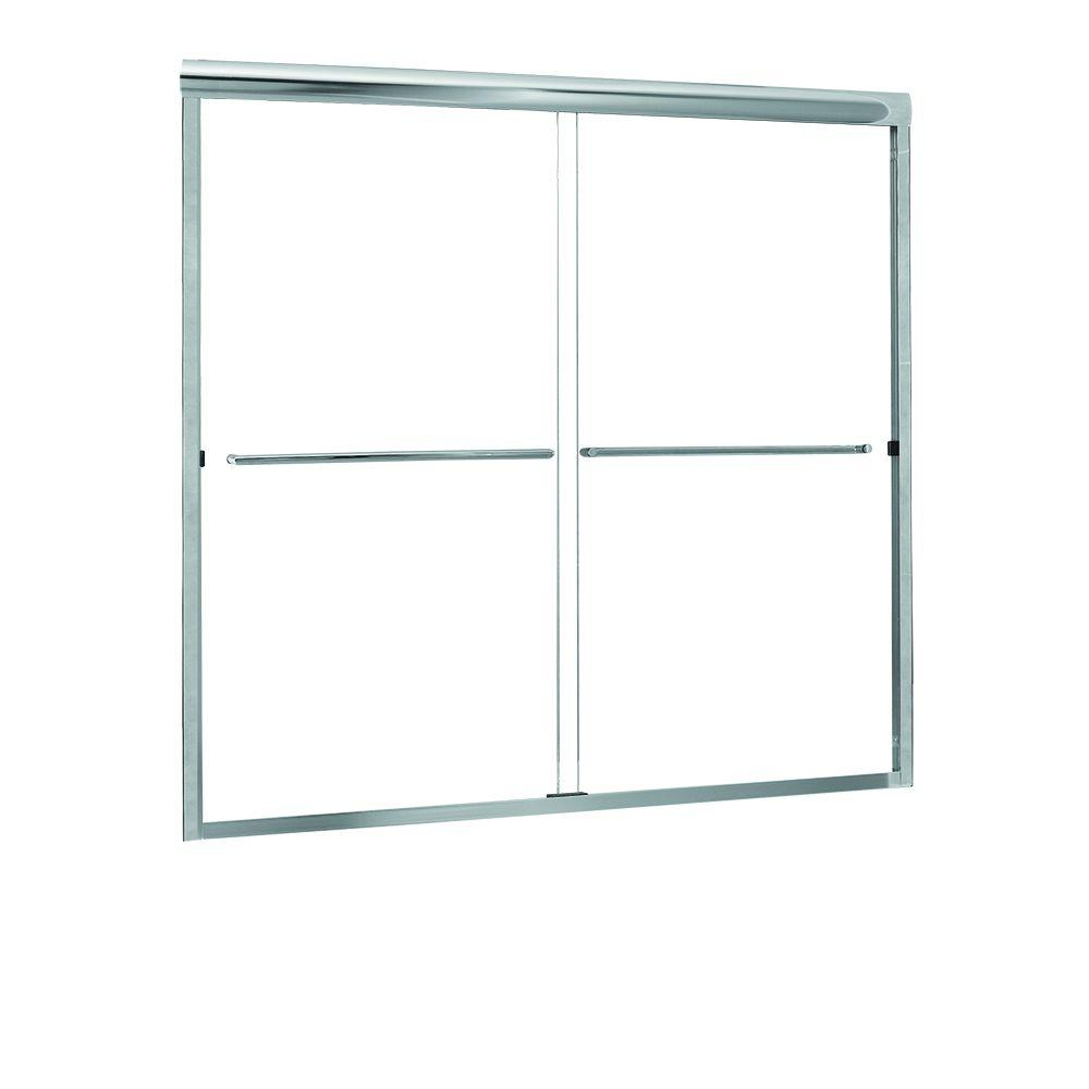 Foremost Groups Cove 50 in. to 54 in. x 55 in. Semi-Frame...