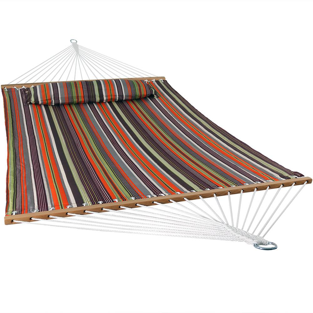 11-3/4 ft. Quilted Double Fabric 2-Person Hammock in Canyon Sunset