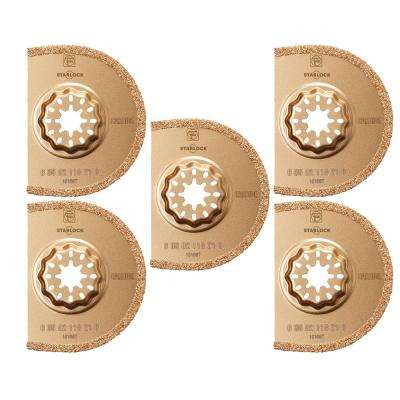 3 in. Segmented Carbide Saw Blade Starlock (5-Pack)