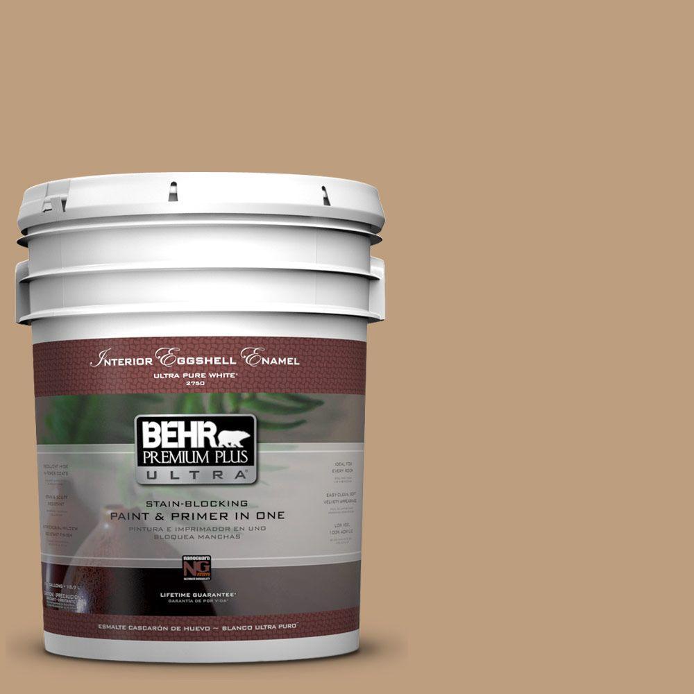 BEHR Premium Plus Ultra 5-gal. #N270-4 Oxford Street Eggshell Enamel Interior Paint