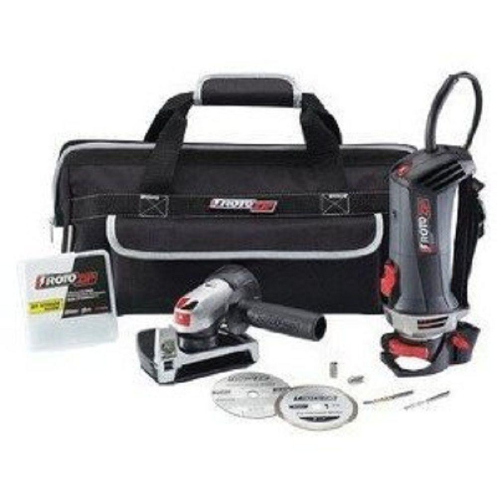 Rotozip 6-Amp Variable Speed Spiral Saw Kit