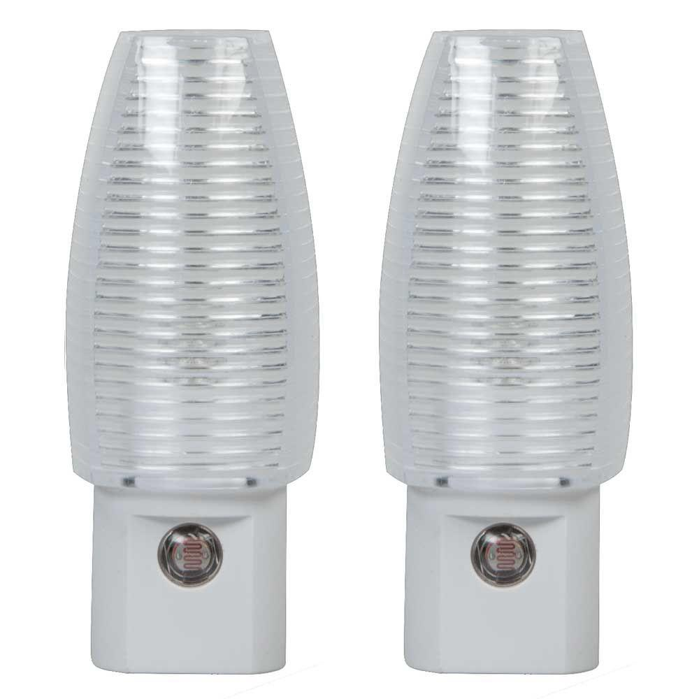 Life+Gear Mini Fire Safety LED Night Light (2-Pack)-LG24 ...