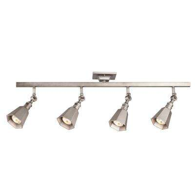 Chestnut 4 Light Antique Pewter Track Lighting Bar