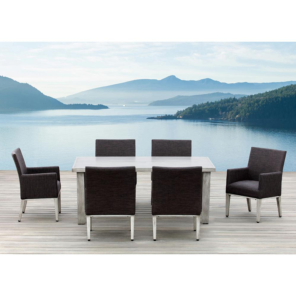 OVE Decors Montreal Rectangular Aluminum Outdoor Dining Table