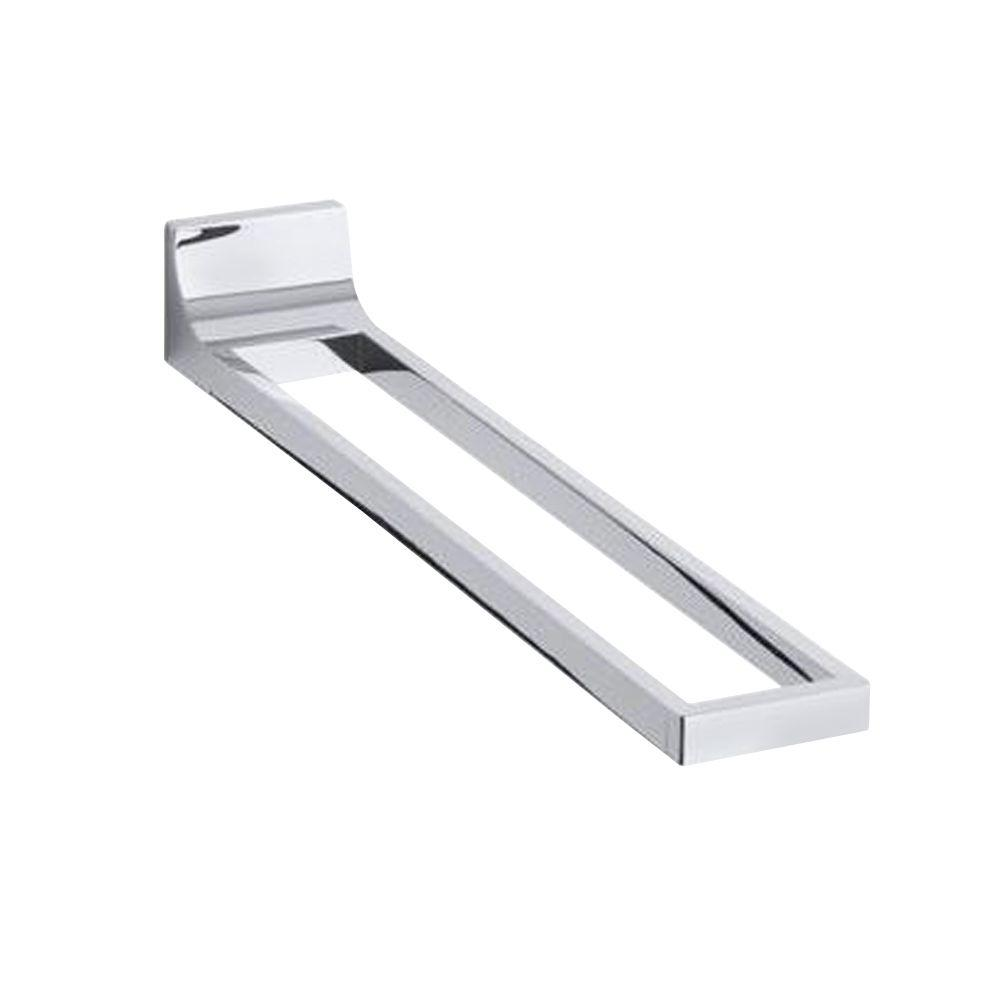 KOHLER Loure Towel Arm in Polished Chrome