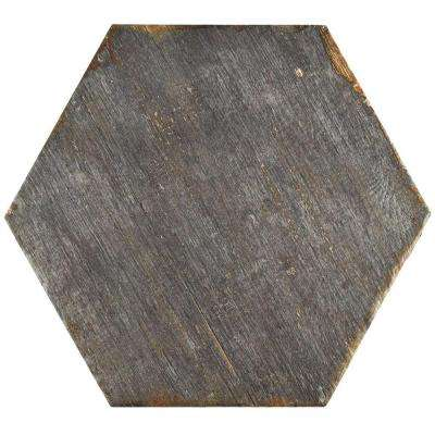 Retro Hex Cendra 14-1/8 in. x 16-1/4 in. Porcelain Floor and Wall Tile (10.76 sq. ft. / case)