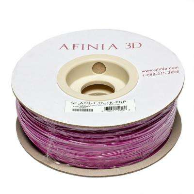 Value-Line 1.75 mm Purple ABS Plastic 3D Printer Filament (1kg)