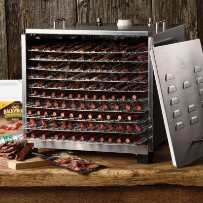 LEM-10-Tray Stainless Steel Food Dehydrator with Built-In Timer