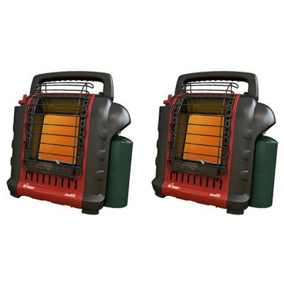9,000 BTU Portable Buddy Camping, Job Site, Hunting Propane Gas Space Heater (2-Pack)