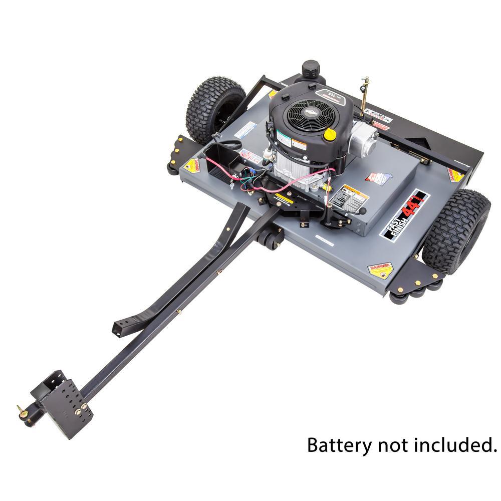 44 in. 11.5 HP Briggs and Stratton Electric Start Finish-Cut Trailmower