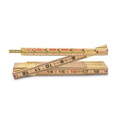 6 ft. x 5/8 in. Wood Rule Red End with 6 in. Slide Rule Extension