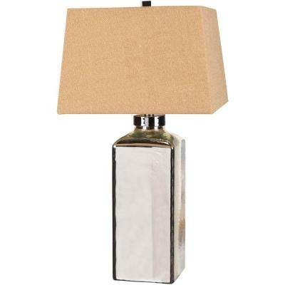 Mercury Glass Indoor Table Lamp