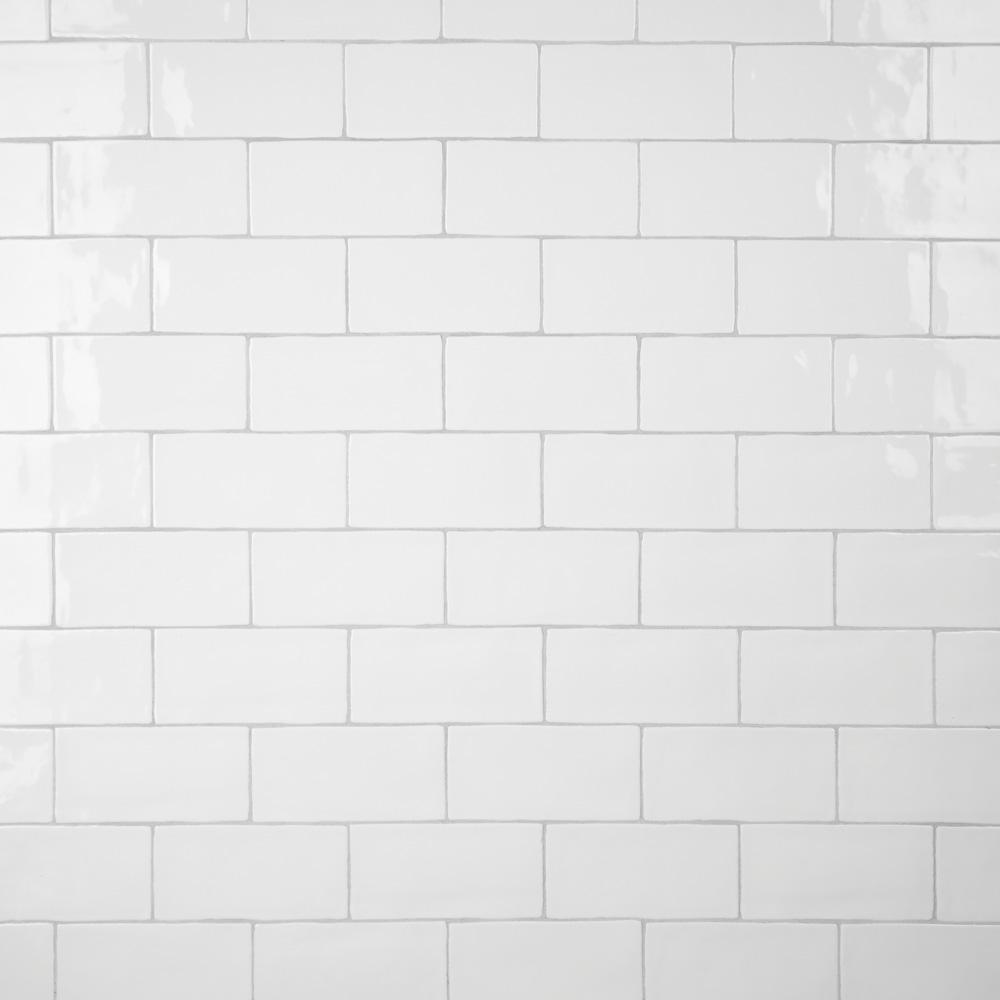 Merola Tile Castillo White 2 7 8 In X 5 7 8 In Ceramic