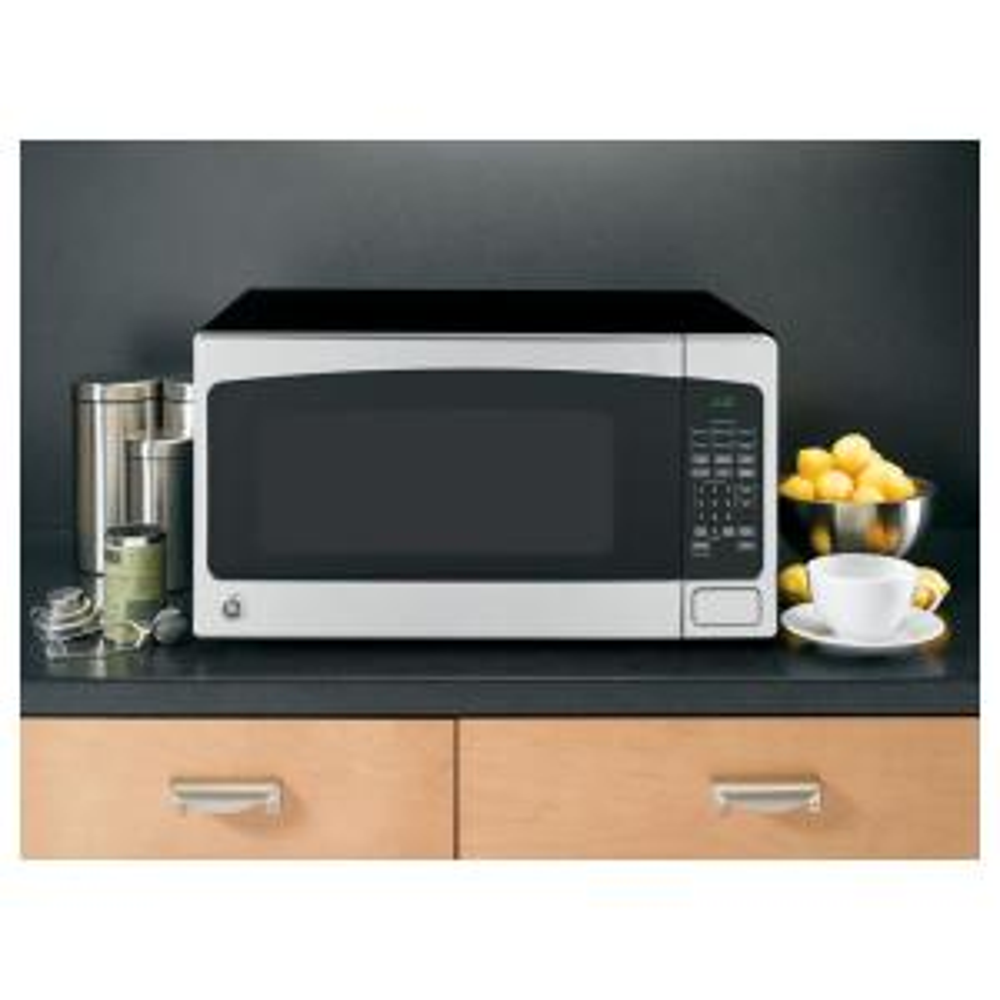 So Sku 282119 Ge 2 0 Cu Ft Countertop Microwave In Stainless Steel