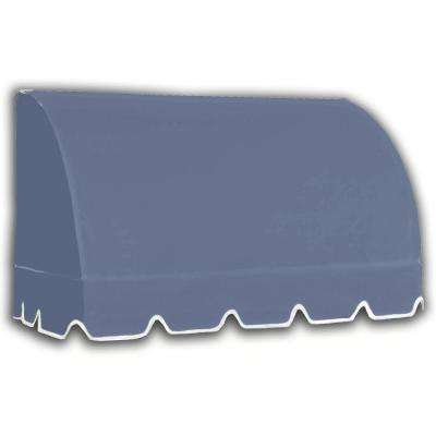4 ft. Savannah Window/Entry Awning (44 in. H x 36 in. D) in Dusty Blue