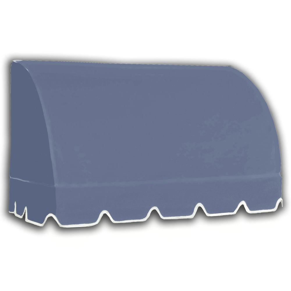 AWNTECH 50 ft. Savannah Window/Entry Awning (44 in. H x 36 in. D) in Dusty Blue