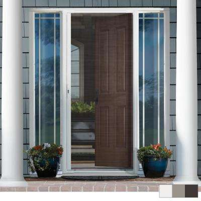 LuminAire® Single Retractable Screen Door