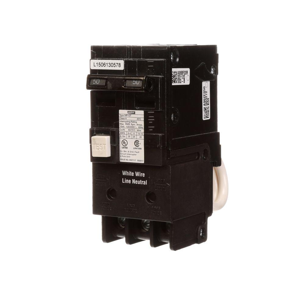 murray 2 pole breakers us2 mp250gfap 64_1000 square d homeline 50 amp 2 pole gfci circuit breaker hom250gficp 50 Amp GFCI Breaker Wiring Diagram For at webbmarketing.co