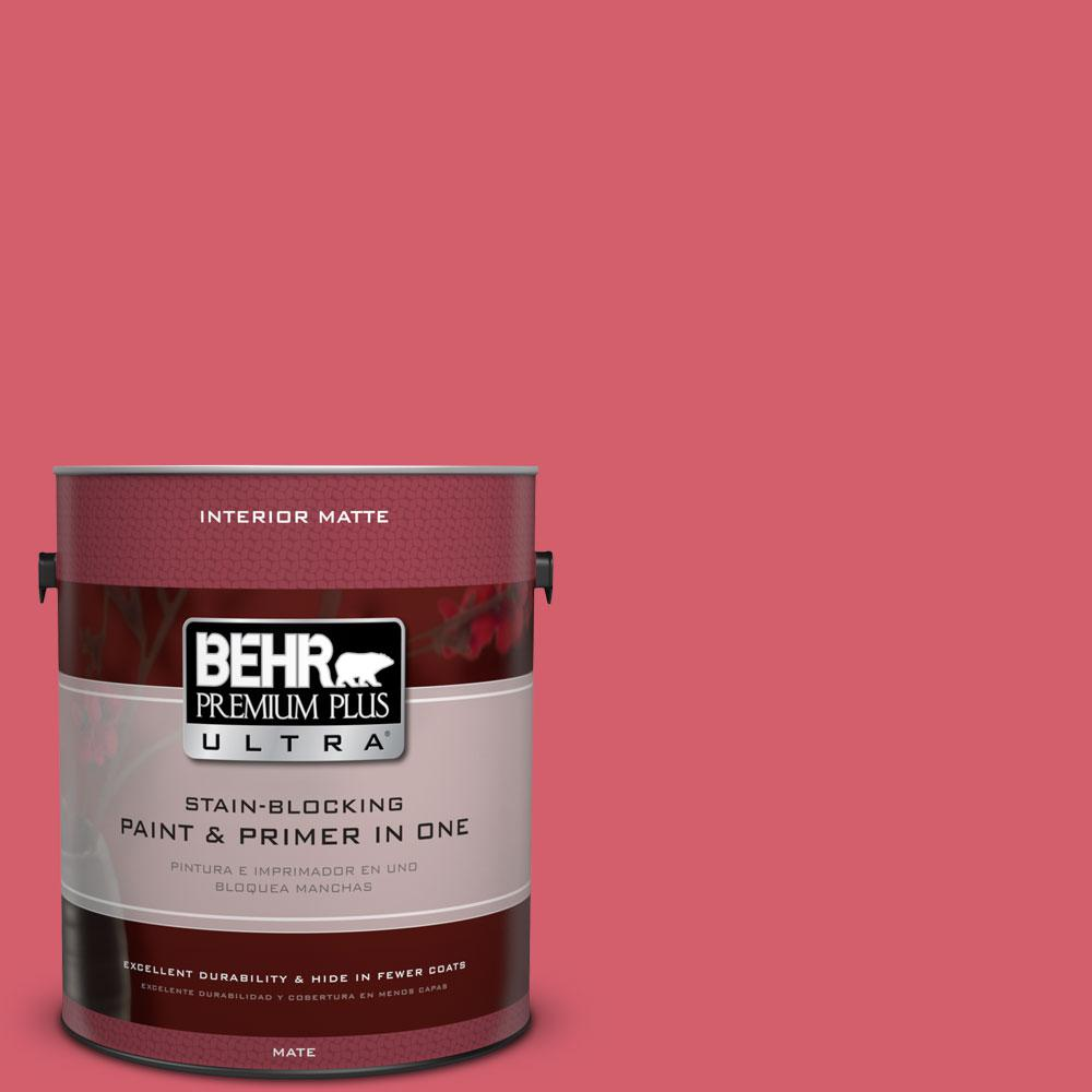 1 gal. #140B-6 Italiano Rose Flat/Matte Interior Paint