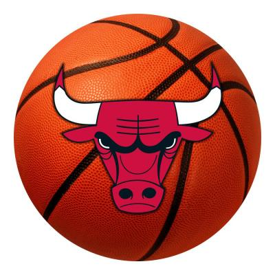 NBA - Chicago Bulls Photorealistic 27 in. Round Basketball Mat