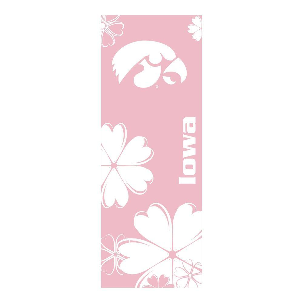 FANMATS University of Iowa 24 in. x 67.5 in. Yoga Mat-DISCONTINUED