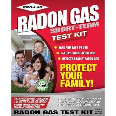 Radon Gas Test Kit