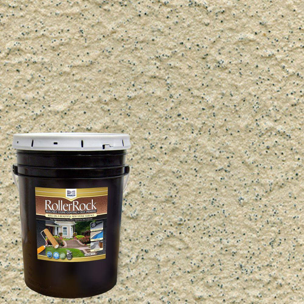 Wonderful DAICH RollerRock 5 Gal. Self Priming Pebblestone Exterior Concrete Coating