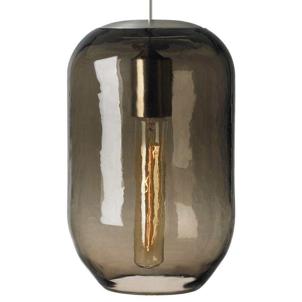 LBL Lighting Mason Classic 1-Light Bronze Brown Incandescent Hanging Pendant