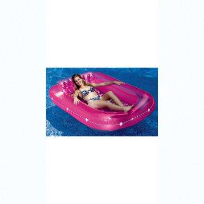 71 in. x 47 in. Pink SunTan Tub Pool Float